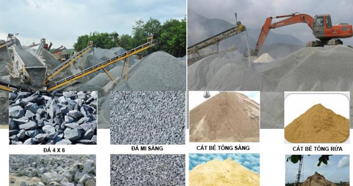 Bảng báo giá đá xây dựng huyện Cần Giờ năm 2020