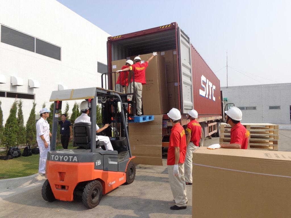 Bốc xếp hàng hóa quận Gò Vấp, dịch vụ bốc xếp nhanh chóng tại Tphcm