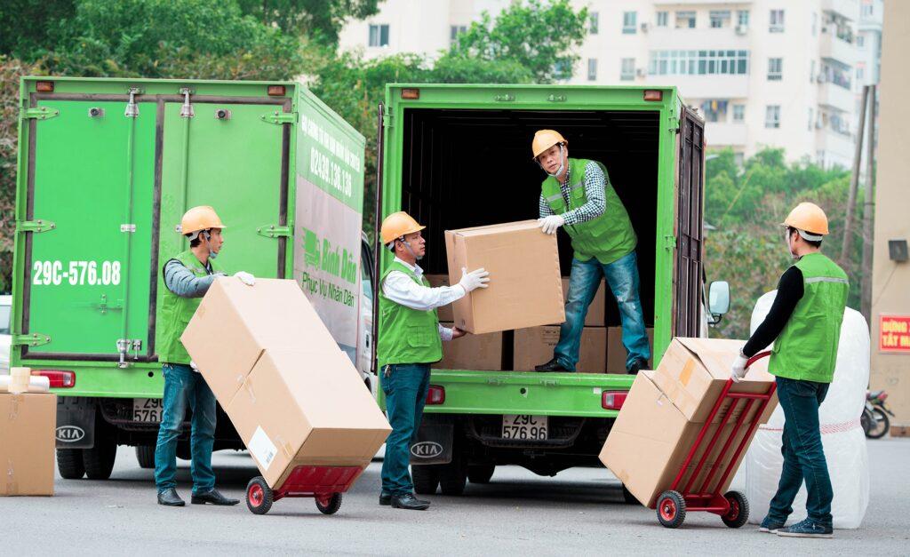 Bốc xếp hàng hóa quận Bình Thạnh, dịch vụ bốc xếp trọn gói giá rẻ