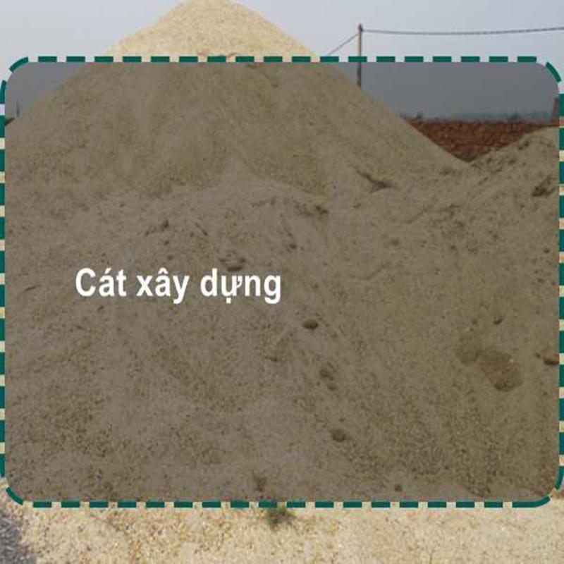 Giá cát xây dựng báo giá ngay