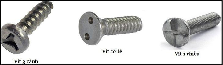 Bulong ốc vít nguyên liệu thép