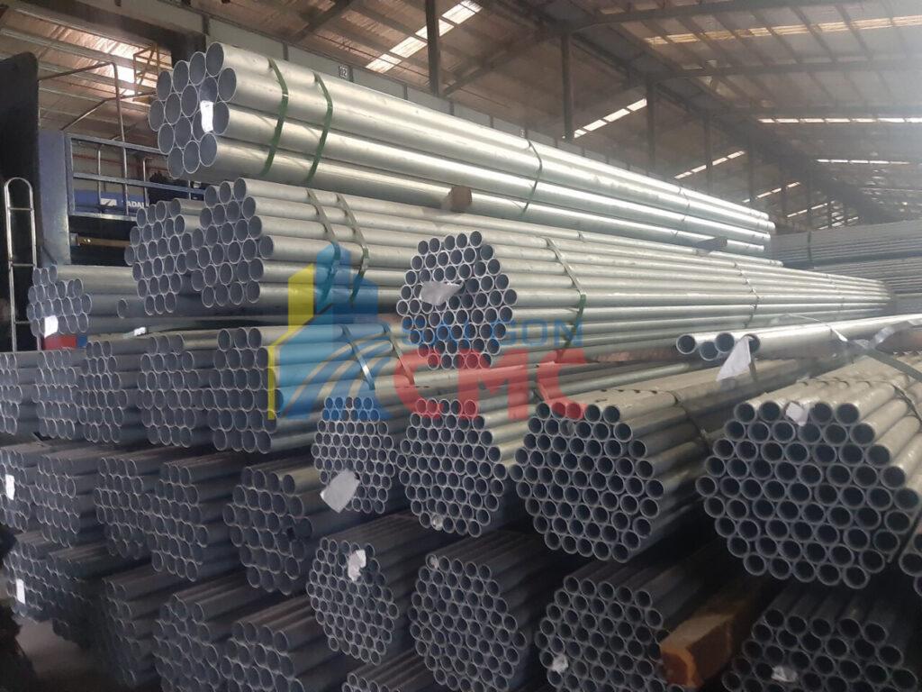 Sài Gòn CMC cập nhật bảng báo giá thép ống mạ kẽm mới nhất