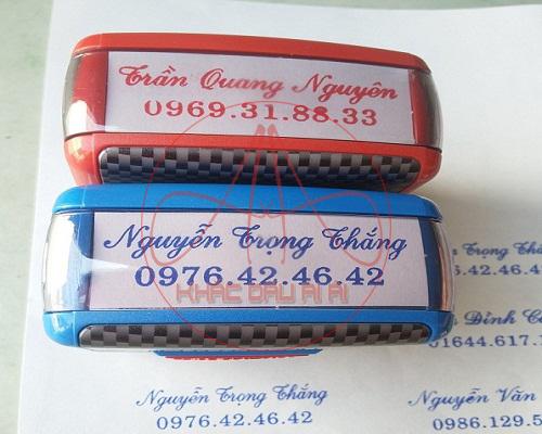 Khắc dấu tên giá rẻ, giao hàng tận nơi nhanh chóng tại TPHCM